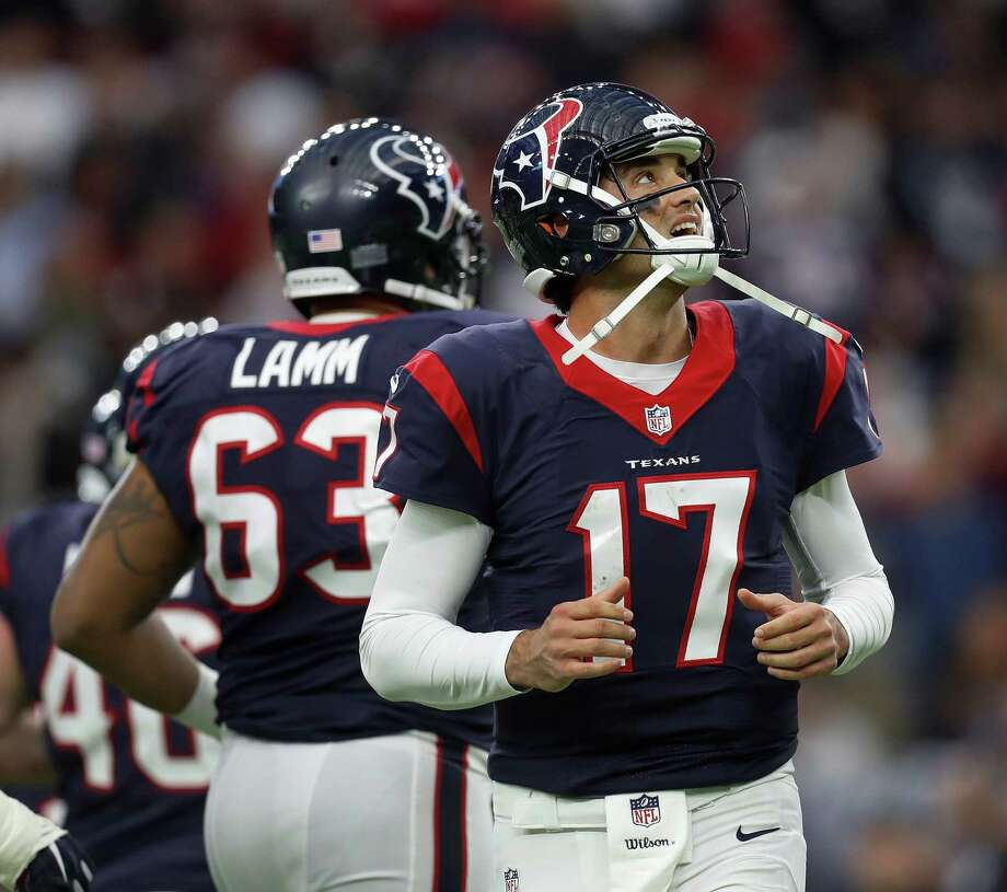 Brock Osweiler's onerous contract could keep the Texans from becoming a player in free agency when it begins March 9.Click through the gallery to see the best free agents in this year's class. Photo: Karen Warren, Staff Photographer / 2016 Houston Chronicle