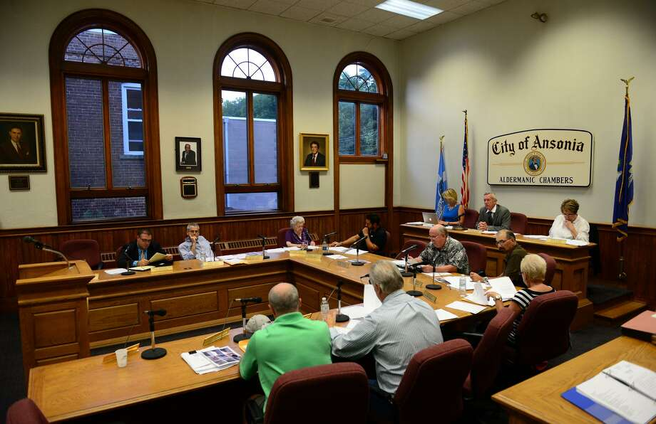 A Board of Alderman meeting held at Ansonia City Hall Photo: Christian Abraham / Christian Abraham / Connecticut Post