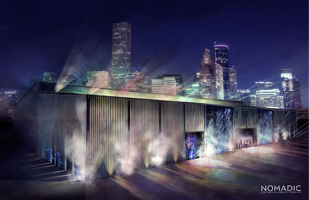 A rendering of Club Nomadic 2017's exterior.
