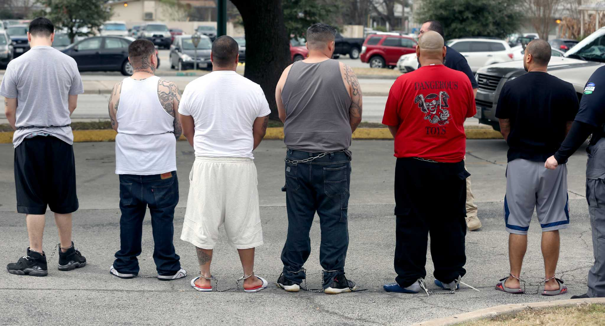 Federal Raids Target Citywide Drug Ring Seize Guns