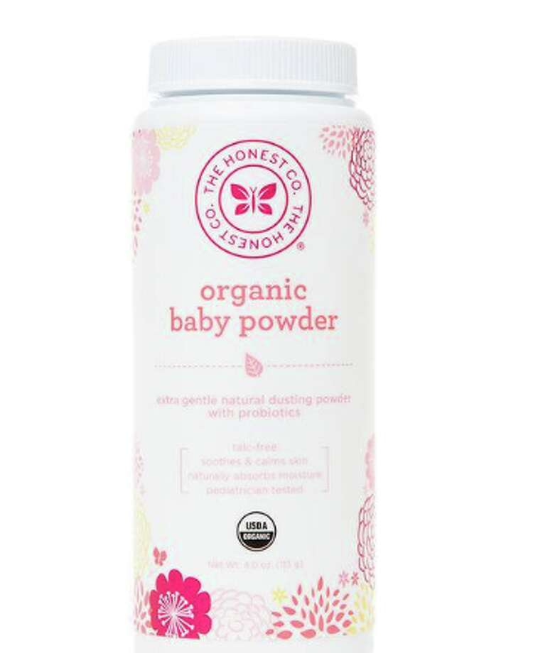 """The Honest Company is recalling all lots of Organic Baby Powder. This product is distributed in the United States in 4 oz containers, UPC #817810014529,"" a statement on the Honest Company website read. Photo: Honest Company Website Screen Grab"