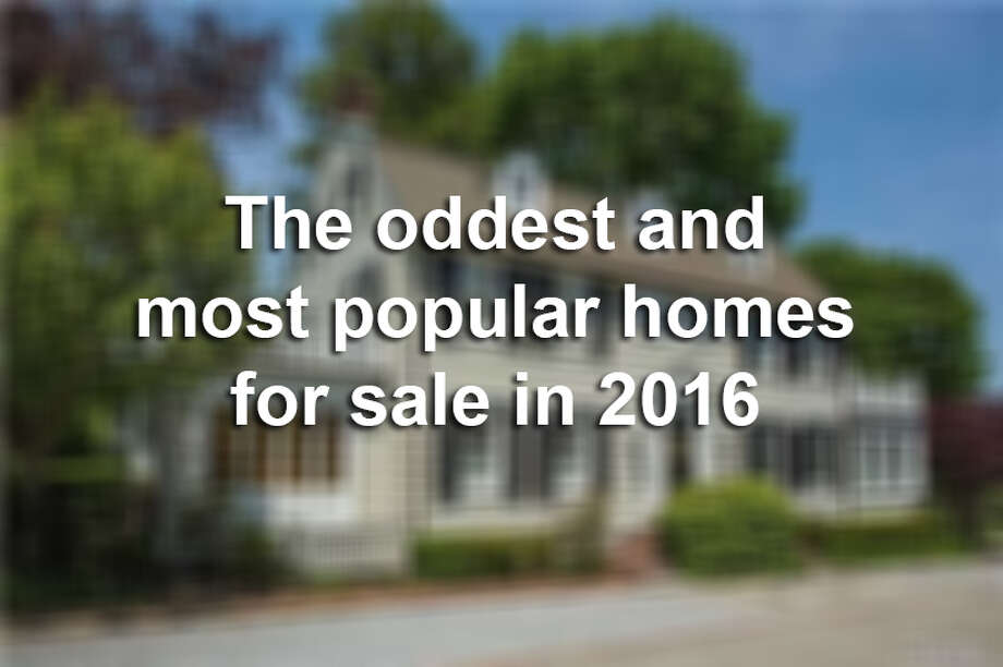 Keep clicking to see the oddest and most popular homes for sale in 2016. Photo: Mysa