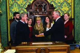 State Rep. Dr. Edward Canfield recently took the oath of office in the state Capitol to begin his second term representing the 84th House District.