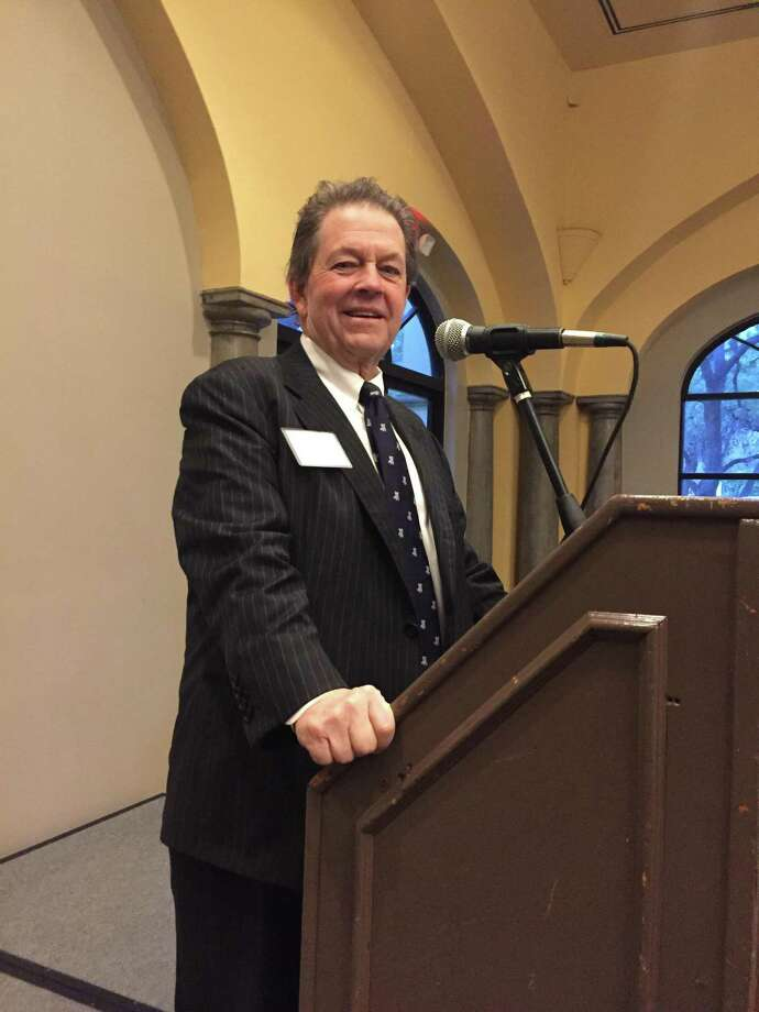 Speaking in San Antonio on Thursday, economist Arthur Laffer predicted a new wave of prosperity from Donald Trump tax cuts. Photo: David Hendricks /