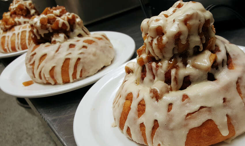 Delicious cinnamon rolls baked fresh every single morning. CLICK HERE for Menu! (210) 822-2665