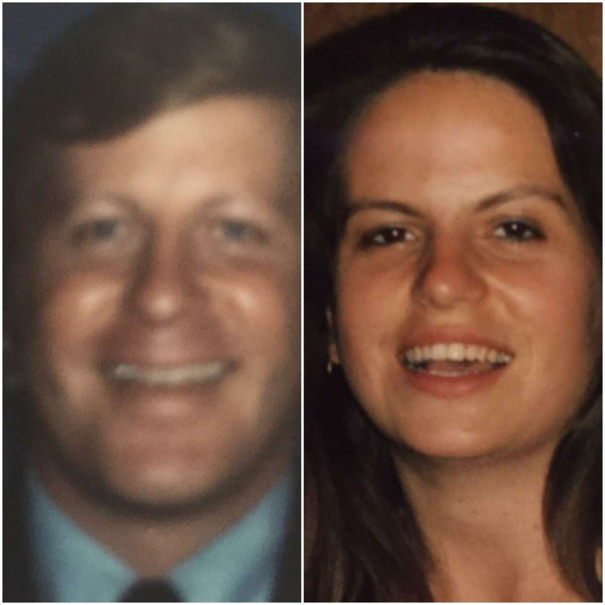Amy Huckbea was reconnected with her birth father, Trey Francis, weeks before Francis died thanks to John Suggs' research.