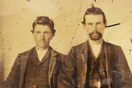 The rare tintype photo comes from the estate of San Antonian collectors, Tommy and Sara Jane Howell. The lot, touting the prized photo and other antiques, is the second installment sold by Burley Auctions.