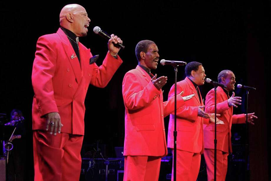 The Coasters perform at The Ridgefield Playhouse on Jan. 14. Photo: Contributed Photo
