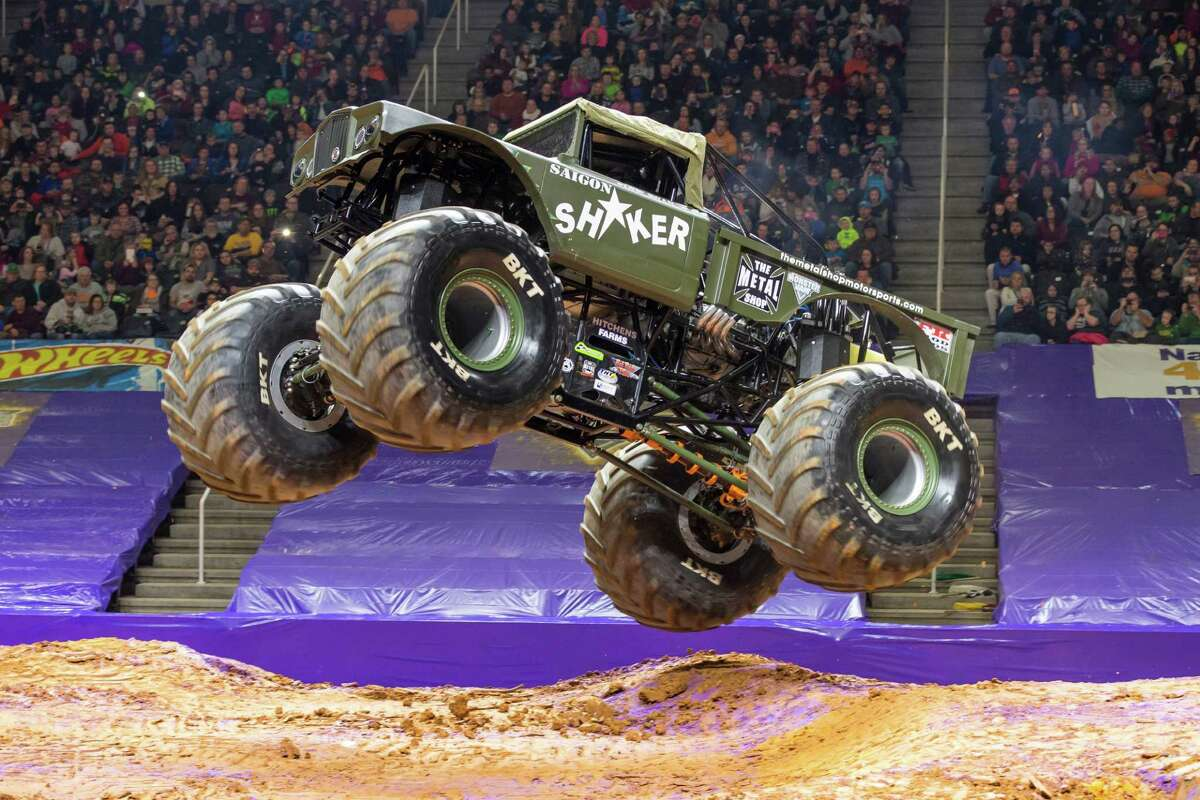 Driver: Ryan DisharoonThe truck: This Jeep on steroids began Monster Jam competition in 2015.