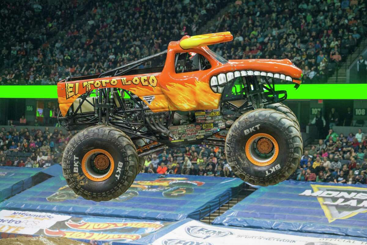 Driver: Morgan KaneThe truck: The blazing orange bull-themed truck made its debut in 2001. It has a 1,500 horsepower 540 CI Merlin engine.