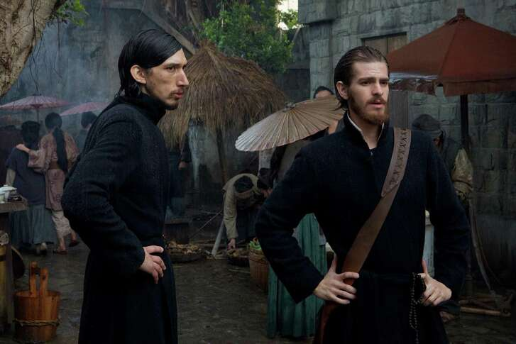 """Andrew Garfield, left, and Adam Driver star in Martin Scorcese's """"Silence."""""""