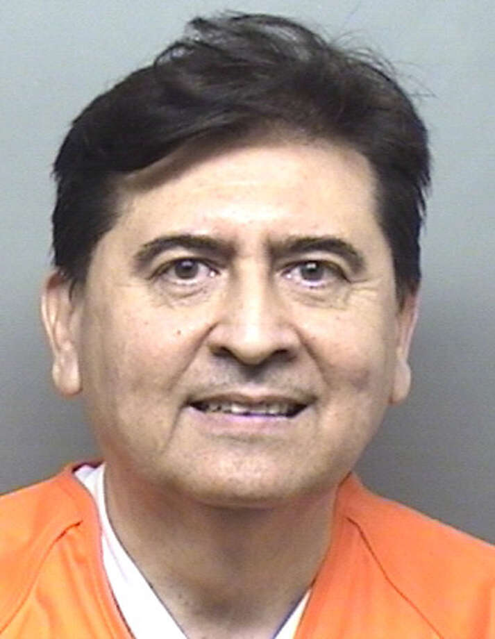 "Jesus ""Chuy"" Garza, Webb County Court at Law II judge, was booked Thursday at the Webb County Jail. He posted a $2,500 bond. Photo: Webb County Sheriffs Office"