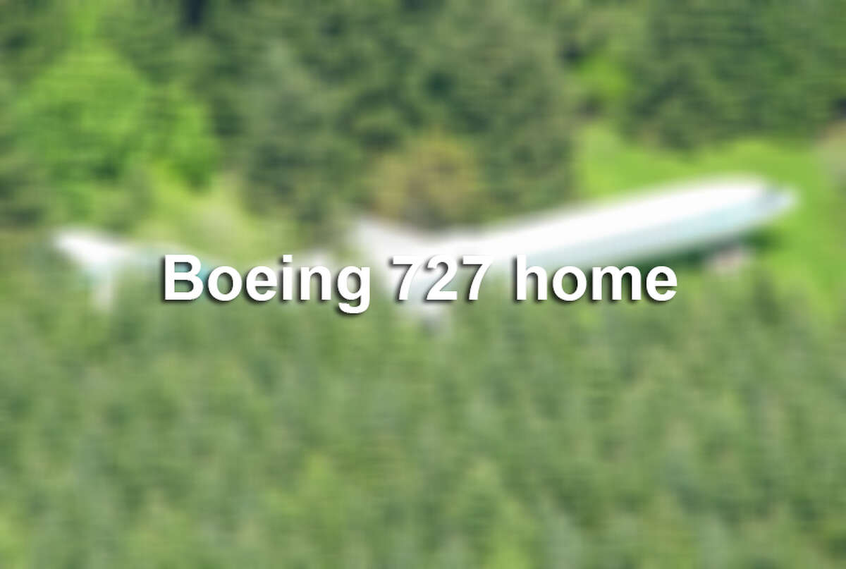 Click ahead to see inside this Bowing 727 turned into a home.