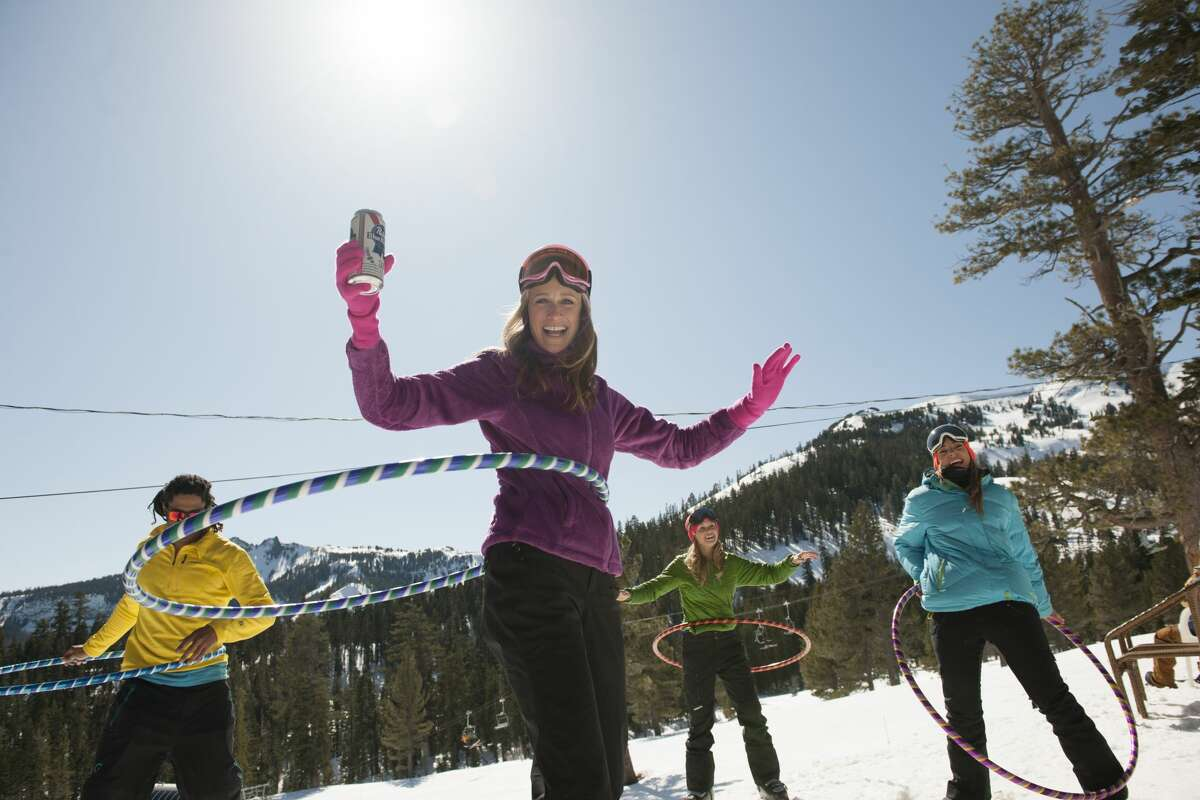 2. Ice bar at Alpine Meadows: Slide up to the Ice Bar tucked away on the backside of Alpine Meadows and soak up the casual, inviting ambiance usually reserved for the beach.