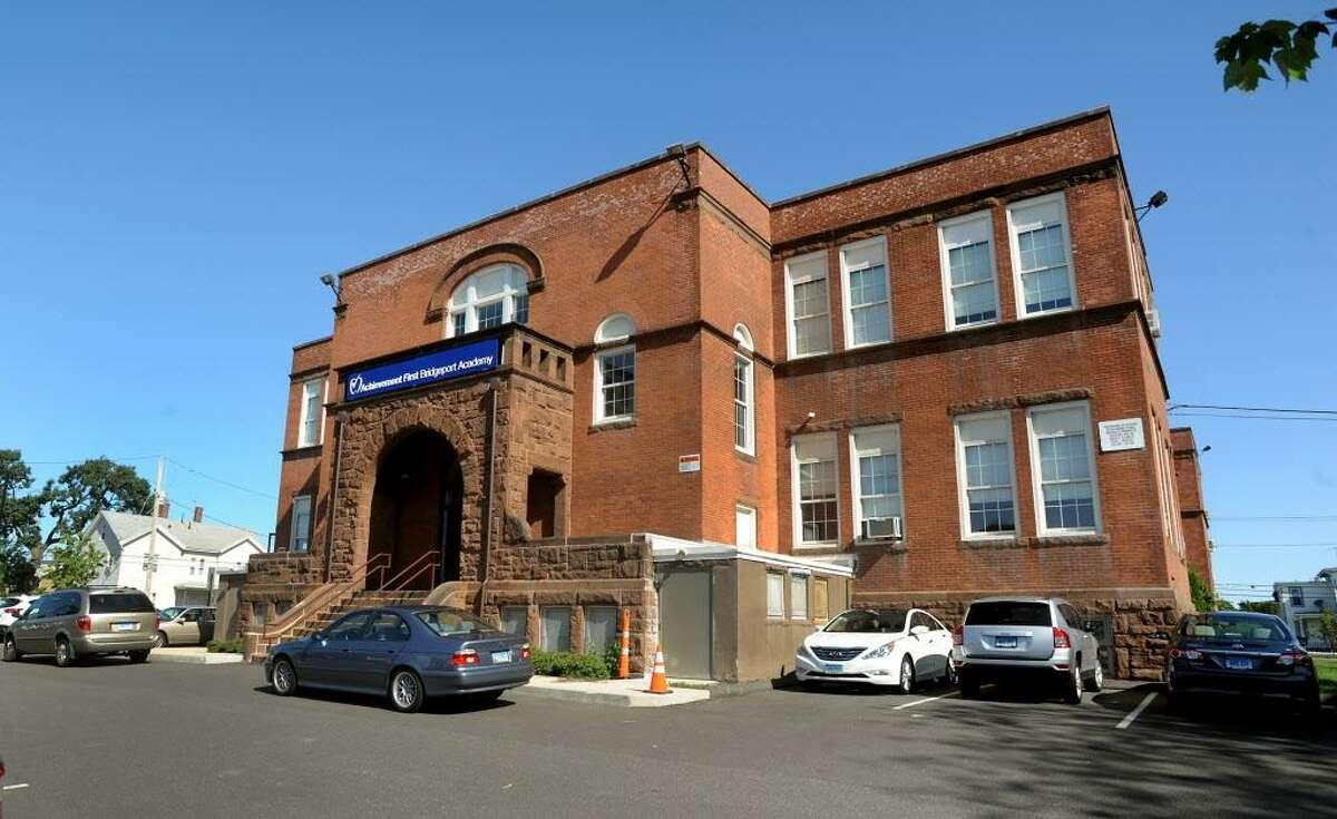 Achievement First Bridgeport Academy Middle School. 529 Noble Avenue Bridgeport, Conn.