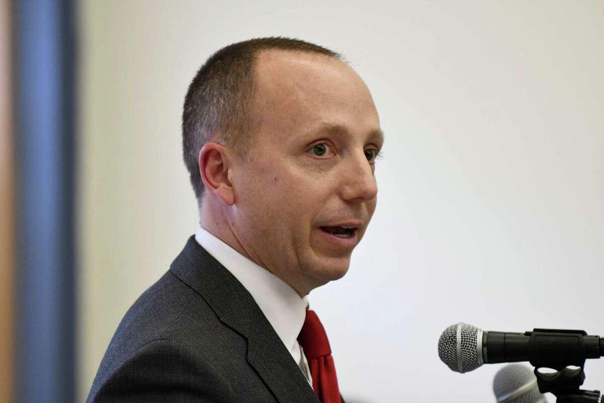 DEC Commissioner Basil Seggos (Will Waldron/Times Union)