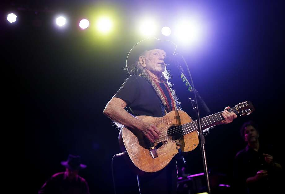 Willie Nelson performs in Nashville. no dataThe 83-year-old outlaw country icon is a pot proselytizer. Photo: Mark Humphrey, Associated Press