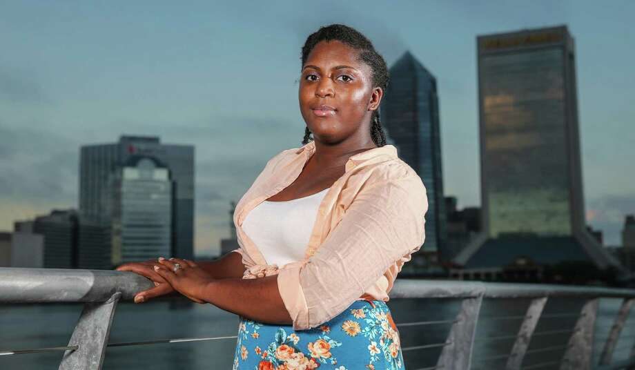 Asia Howard of Jacksonville, Fla., was  unable to get a job in banking after graduating from high school. But after further developing her computer skills, she landed a job in mortgage lending, nearly doubling her pay. Photo: Gary McCullough, FRE / FR171182 AP