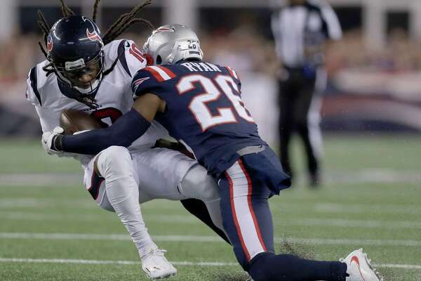 47a90d3140d Texans WR DeAndre Hopkins doesn t expect Patriots to alter successful scheme