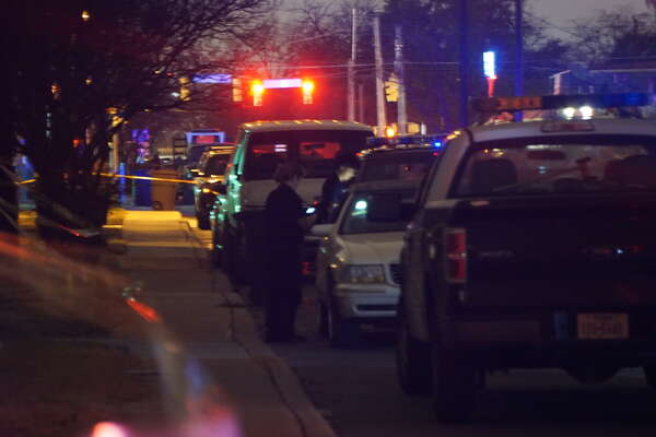 A man was found dead in his vehicle with multiple gunshot wounds after a large fight Thursday night in the 1500 block of Hays Street on Jan. 12, 2017.