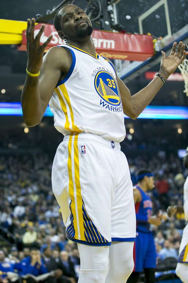 Golden State Warriors forward Kevin Durant (35) after losing the ball during  the first 73fd23391