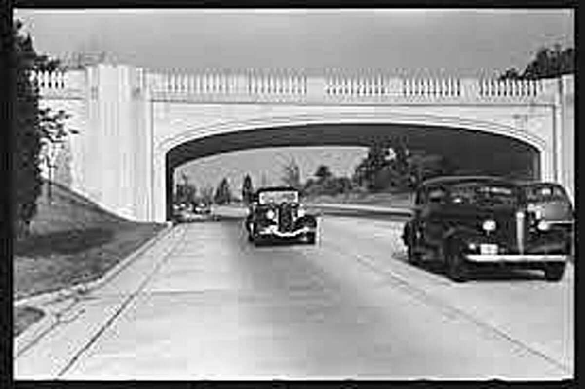 The Merritt Parkway opened in 1939. It was one of the first scenic parkways in the nation and the first in limited-access roadway in Connecticut.