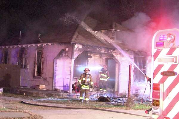 Firefighters responded to a home on the city's South Side two times on Jan. 13, 2017, once for reports of an aggravated assault and then again for a fire.