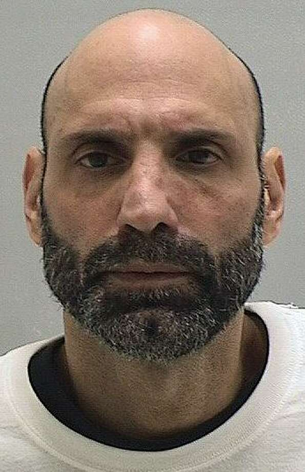 Paul Riccio, 48, of West Haven, was arrested by Orange police on Jan. 6, 2017 for allegedly trying to steal a $280 coffee machine from the Kohls store on Bull Hill Lane. Photo: Orange Police Department
