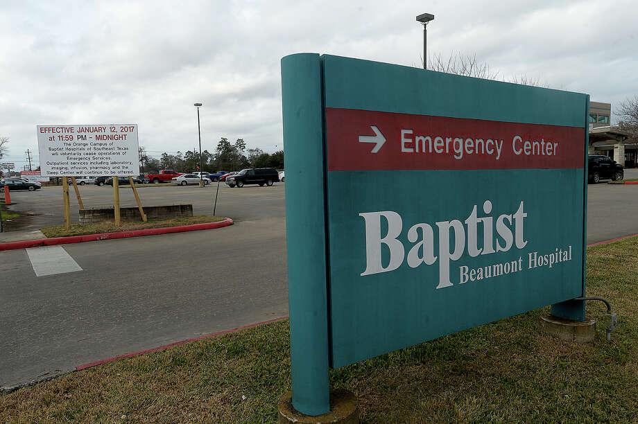 baptist er s closure leaves health care hole in orange beaumont