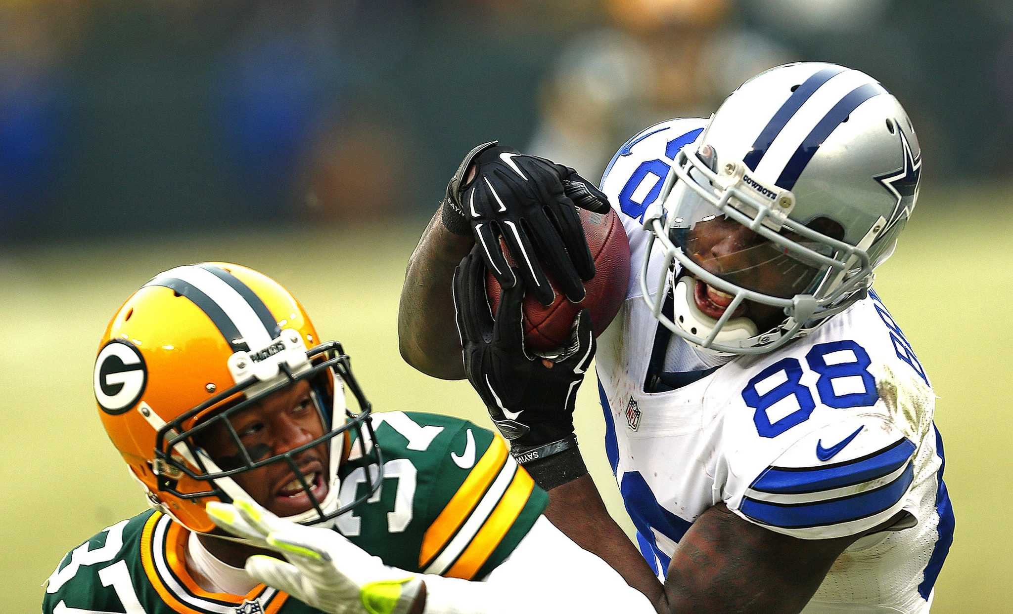 Cowboys Bryant Looking Beyond Catch That Wasn T