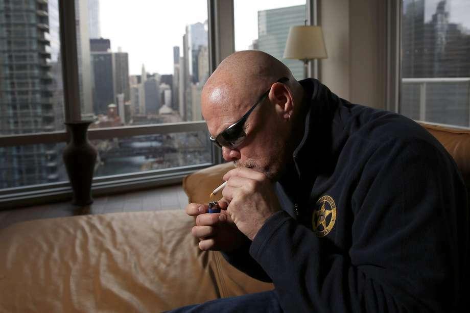 Ex-NFL quarterback Jim McMahon now smokes medical marijuana. (AP file photo)