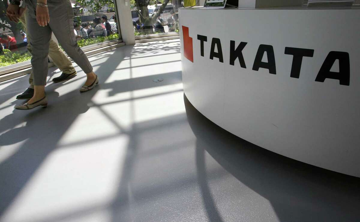 Takata will pay a $25 million criminal fine, $125 million to individuals who were injured by the air bags and $850 million to automakers that purchased the inflators.
