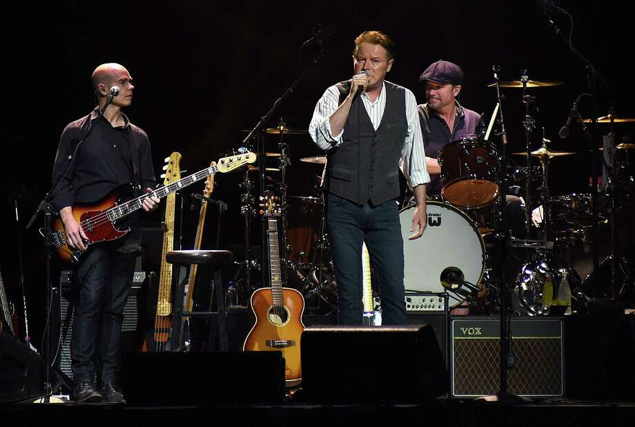 Don Henley brought a 12-piece backing band and three back-up singers to the Mohegan Sun Arena in Uncasville, Conn., on Saturday, Sept. 17, 2016, performing more than three decades of his as a member of the Eagles and as a solo artist. Photo: John Nash, Sports Reporter / Norwalk Hour