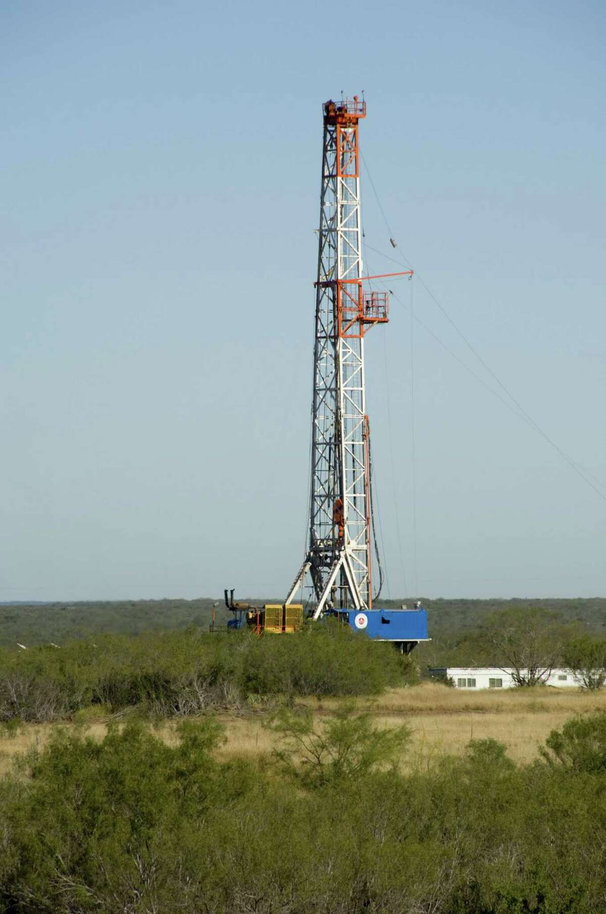 A Sanchez Energy drilling site in the Eagle Ford Shale. Sanchez has been a longtime producer in the Eagle Ford, and said this week it would purchase Anadarko Petroleum's acreage in the field.