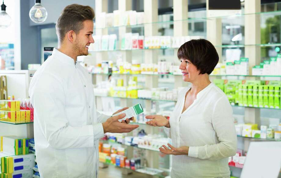 Pharmacy techs help pharmacists dispense prescription medication to customers or health professionals.