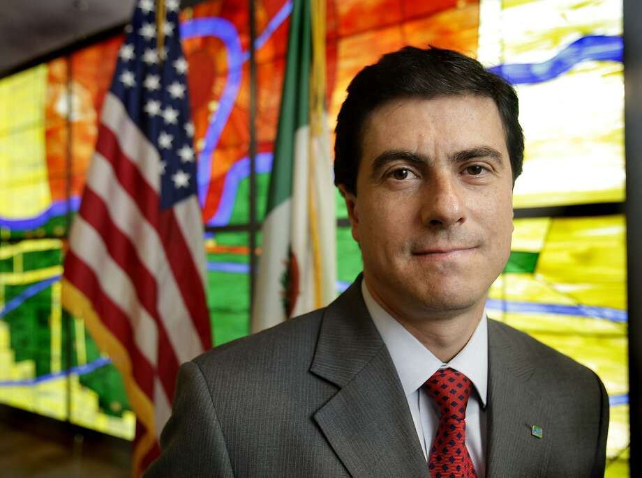 The proposal in 2014 to merge the North American Development Bank in San Antonio with its sister institution in Mexico was made by Geronimo Gutierrez, then-managing director of the North American Development Bank. Photo: BOB OWEN /SAN ANTONIO EXPRESS-NEWS / SAN ANTONIO EXPRESS-NEWS
