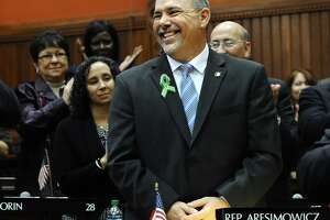 Connecticut House Majority Leader Joe Aresimowicz, D-Berlin and shown above, and House Majority Leader Matt Ritter, D-Hartford, have introduced a 10-point legislative program for more jobs and economic growth.