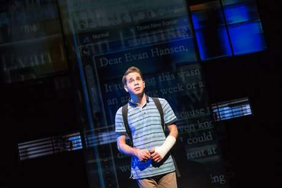 "Ben Platt in ""Dear Evan Hansen."" Photo: Matthew Murphy / Contributed Photo"