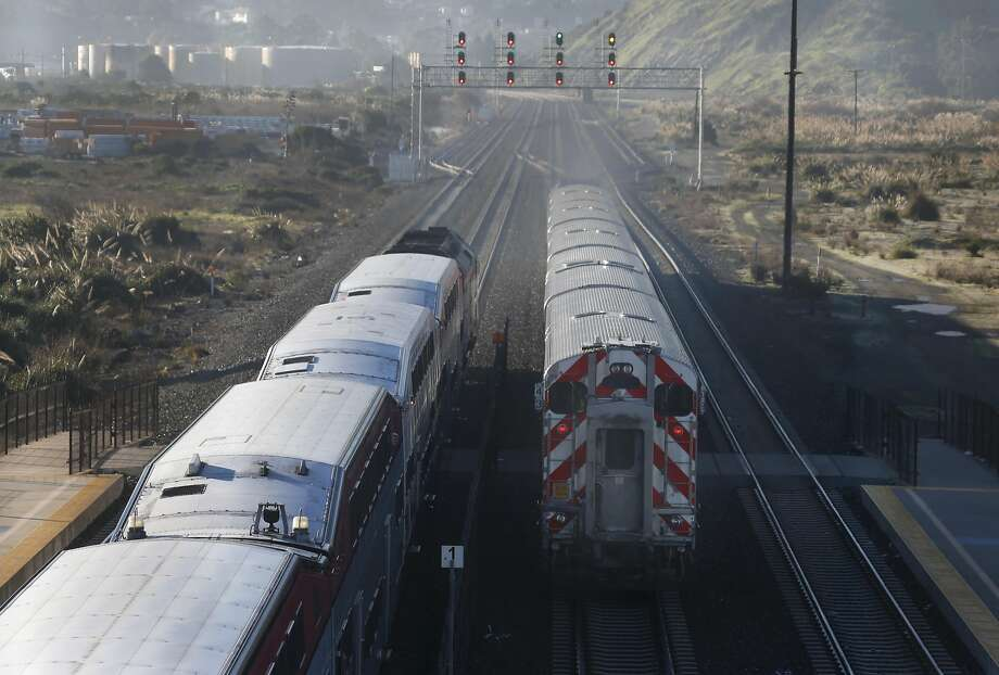 Caltrain desperately needs modernization. Photo: Paul Chinn, The Chronicle