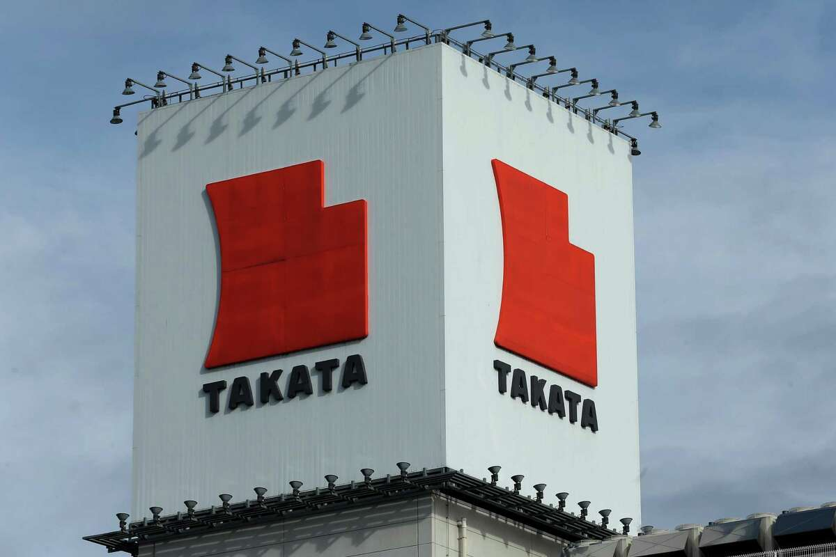 The United States charged three Takata executives in connection with the investigation into the company's exploding air bags, according to court records unsealed Friday.