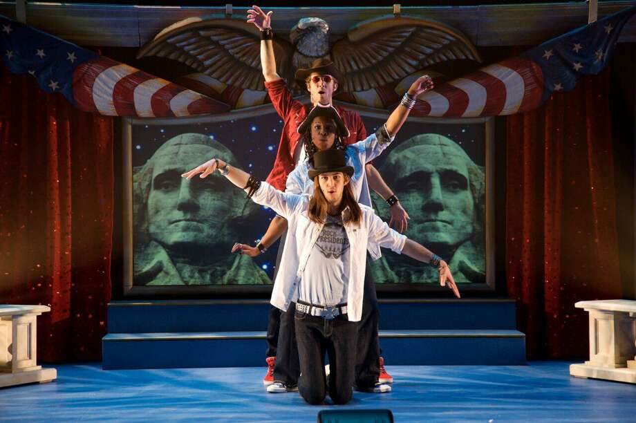 "The Arizona-based Childsplay theater brings its ""Rock the Presidents"" musical to the Quick Center in Fairfield on Sunday, Jan. 22. Photo: Childsplay / Contributed Photo / Connecticut Post Contributed"