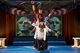 "The Arizona-based Childsplay theater brings its ""Rock the Presidents"" musical to the Quick Center in Fairfield on Sunday, Jan. 22."