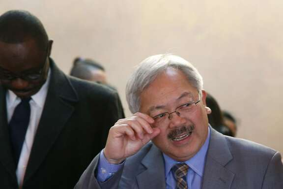 Mayor Ed Lee attends an event at the Islamic Society of San Francisco in San Francisco, Calif. on Friday, Jan. 13, 2017. The mayor is reversing his position on a safe injection site is now in favor of it.