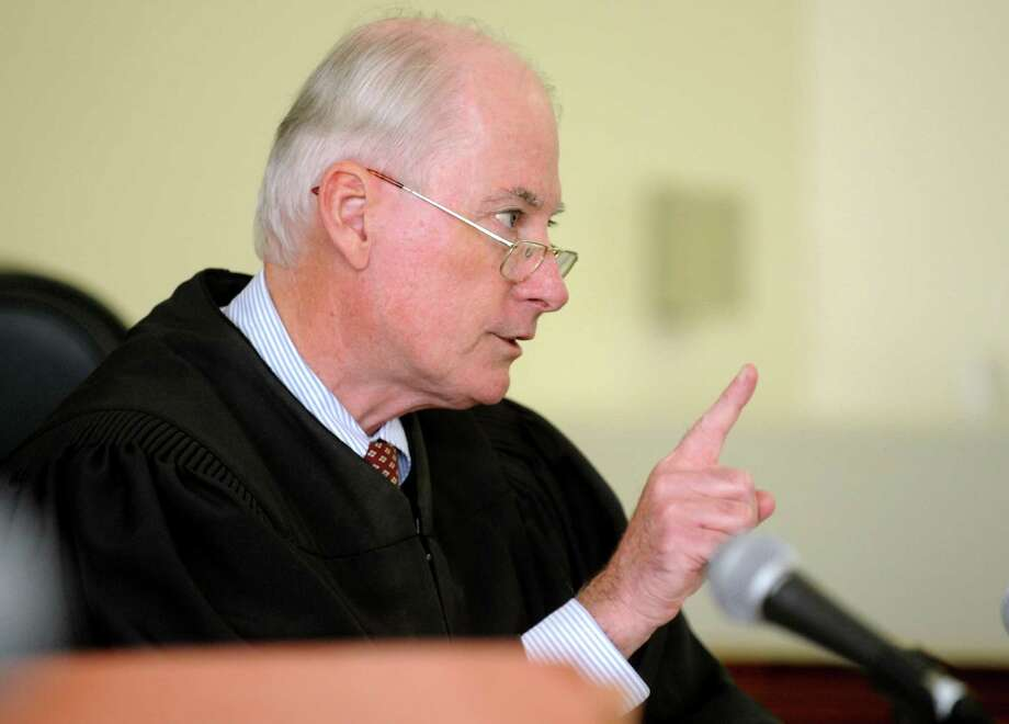 Superior Court Judge Robert Devlin of Shelton easily won confirmation to another eight-year term on Friday, after some lawmakers on the Judiciary Committee criticized him for the way he handled a sexual assault case last year. Photo: Autumn Driscoll / Autumn Driscoll / Connecticut Post