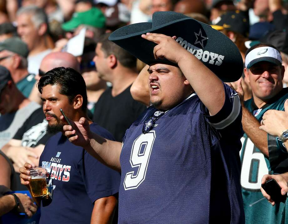 "MOST HATED TEAMS IN SPORTSDallas CowboysLiving in Houston, this is an easy one. ""How 'bout them Cowboys"" is as vomit-inducing a statement as ""I45 is shut down to one lane due to construction.""  And, just like their Super Bowl titles, that statement is super old. The Cowboys' most recent Super Bowl trophy turns 21 years in a couple weeks. That's right, if the Super Bowl trophy were a human being, parents would be ready to kick it out of their house and it would be almost ready to drink legally. That doesn't stop Cowboys fans from pretending to be rooting for some sort of elite franchise. Never mind the fact that the Cowboys have two playoff wins since 1996. The Houston Texans have three playoff wins, and they didn't even exist until 2002. Photo: Elsa/Getty Images"