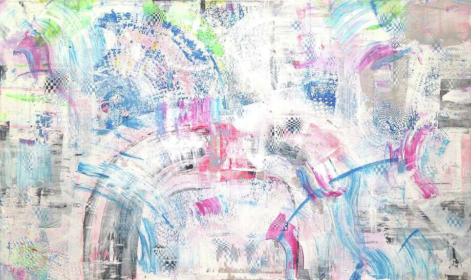 """Nanoosh"" is among the paintings in Martin Durazo's show ""The Adventurers"" at Barbara Davis Gallery through Feb. 4. Photo: Barbara Davis Gallery"