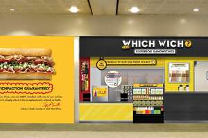 Rendering of the Which Wich scheduled to open in February in Terminal A at Bush Intercontinental Airport.