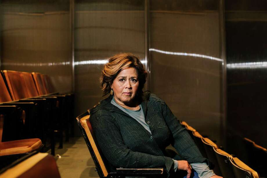"PHOTO MOVED IN ADVANCE AND NOT FOR USE - ONLINE OR IN PRINT - BEFORE OCT. 16, 2016. -- Actor and playwright Anna Deavere Smith at Second Stage Theater in New York, where her new play ""Notes From the Field"" will open Nov. 2, in New York, Oct. 1, 2016. Smith has spent her career interviewing and then embodying people of different races and divergent points of view, but her new play, a prolonged meditation on education and criminal justice is, she says, about her. (Christopher Gregory/The New York Times) Photo: CHRISTOPHER GREGORY, STR / NYTNS"