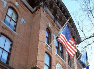 Voters in Saratoga Springs will decide in May 2017 on whether to adopt a new form of government. Saratoga Springs City Hall City Hall on Broadway is pictured.  (John Carl D'Annibale / Times Union)