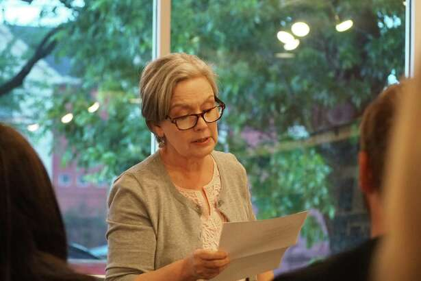 Houston poet laureate Robin Davidson